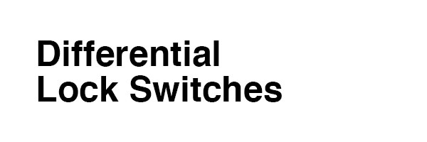 Differential Lock Switches